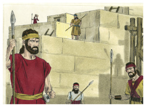 Book of Nehemiah, Art by James Padgett